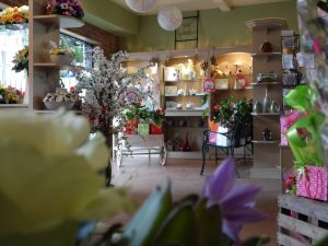 Inside of the eden of chorley florists.