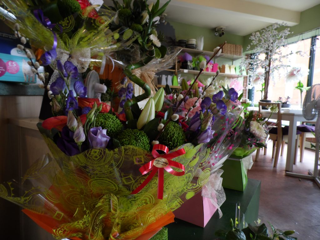local florist in the centre of chorley lancashire