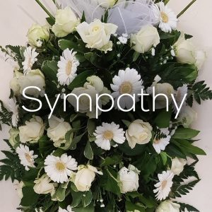 sympathy and funeral flowers by eden of chorley